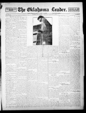 Primary view of object titled 'The Oklahoma Leader. (Guthrie, Okla.), Vol. 24, No. 5, Ed. 1 Thursday, January 16, 1913'.