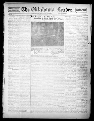 Primary view of object titled 'The Oklahoma Leader. (Guthrie, Okla.), Vol. 24, No. 8, Ed. 1 Thursday, February 6, 1913'.