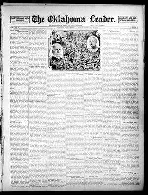 Primary view of object titled 'The Oklahoma Leader. (Guthrie, Okla.), Vol. 24, No. 9, Ed. 1 Thursday, February 13, 1913'.