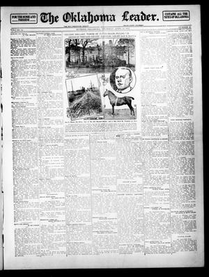 Primary view of object titled 'The Oklahoma Leader. (Guthrie, Okla.), Vol. 24, No. 19, Ed. 1 Thursday, April 24, 1913'.