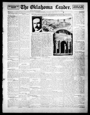 Primary view of object titled 'The Oklahoma Leader. (Guthrie, Okla.), Vol. 24, No. 20, Ed. 1 Thursday, May 1, 1913'.