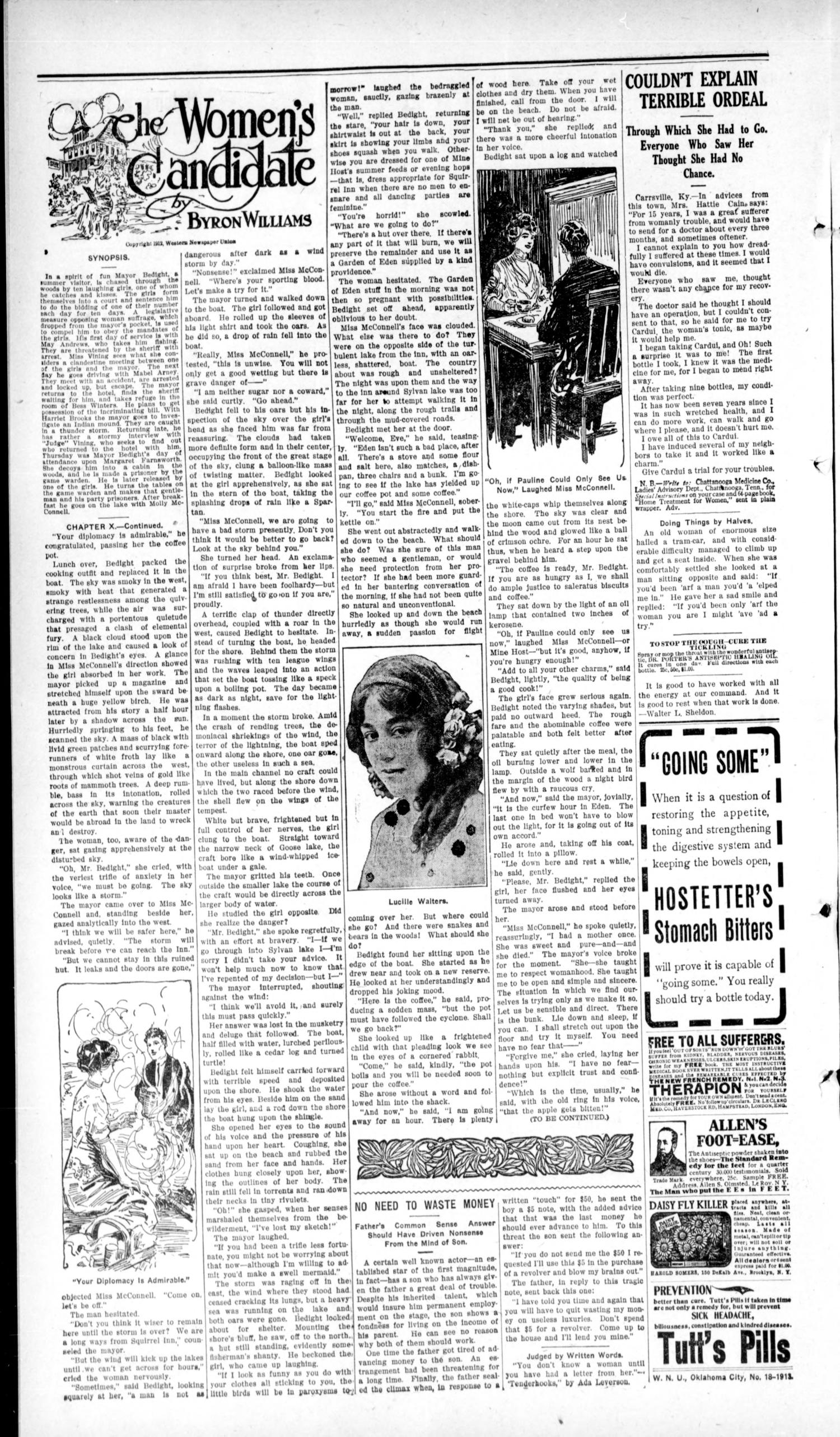 The Ralston Independent (Ralston, Okla.), Vol. 9, No. 1, Ed. 1 Friday, May 9, 1913                                                                                                      [Sequence #]: 2 of 4
