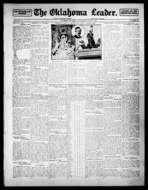 Primary view of object titled 'The Oklahoma Leader. (Guthrie, Okla.), Vol. 24, No. 25, Ed. 1 Thursday, June 5, 1913'.