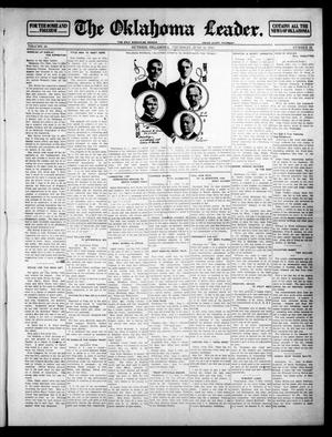Primary view of object titled 'The Oklahoma Leader. (Guthrie, Okla.), Vol. 24, No. 26, Ed. 1 Thursday, June 12, 1913'.