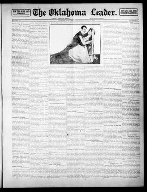 Primary view of object titled 'The Oklahoma Leader. (Guthrie, Okla.), Vol. 24, No. 27, Ed. 1 Thursday, June 19, 1913'.
