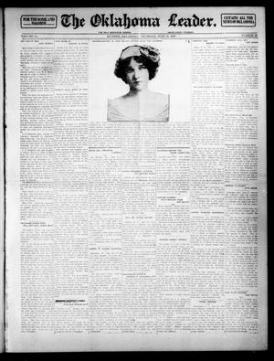 Primary view of object titled 'The Oklahoma Leader. (Guthrie, Okla.), Vol. 24, No. 28, Ed. 1 Thursday, June 26, 1913'.
