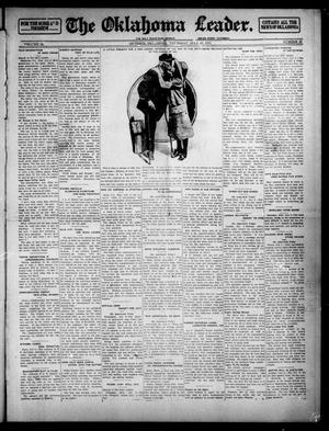 Primary view of object titled 'The Oklahoma Leader. (Guthrie, Okla.), Vol. 24, No. 30, Ed. 1 Thursday, July 10, 1913'.