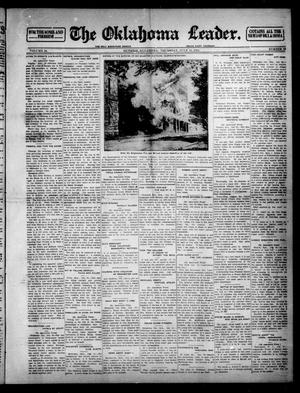 Primary view of object titled 'The Oklahoma Leader. (Guthrie, Okla.), Vol. 24, No. 33, Ed. 1 Thursday, July 31, 1913'.