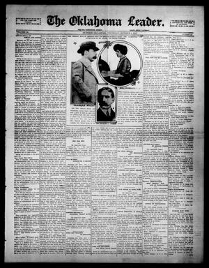 Primary view of object titled 'The Oklahoma Leader. (Guthrie, Okla.), Vol. 24, No. 42, Ed. 1 Thursday, October 2, 1913'.