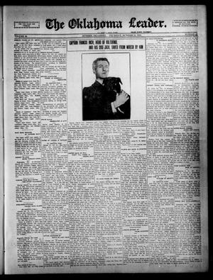 Primary view of object titled 'The Oklahoma Leader. (Guthrie, Okla.), Vol. 24, No. 45, Ed. 1 Thursday, October 23, 1913'.