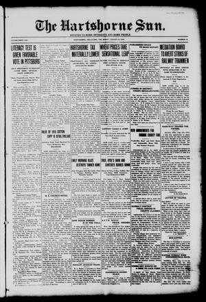 Primary view of The Hartshorne Sun. (Hartshorne, Okla.), Vol. 22, No. 33, Ed. 1 Thursday, August 10, 1916