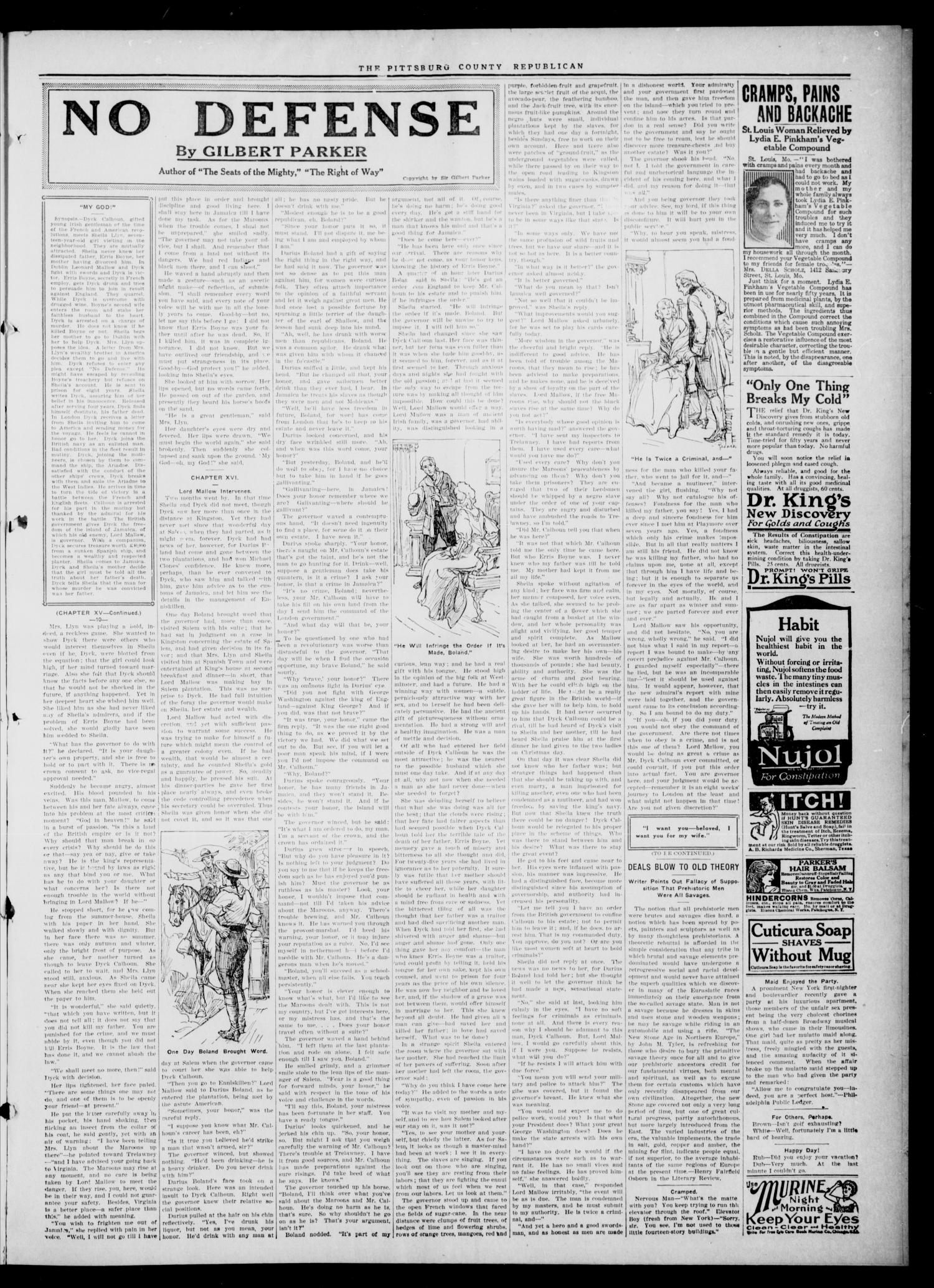 The Pittsburg County Republican (Hartshorne, Okla.), Vol. 3, No. 42, Ed. 2 Thursday, January 26, 1922                                                                                                      [Sequence #]: 3 of 4
