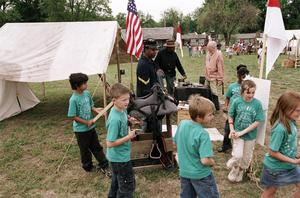 Primary view of object titled 'Fort Gibson Heritage Festival'.