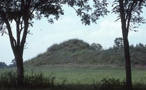 Primary view of Spiro Mounds Archaeological Park