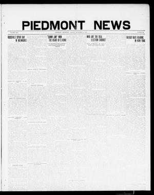 Primary view of object titled 'Piedmont News (Piedmont, Okla.), Vol. 2, No. 32, Ed. 1 Friday, September 9, 1910'.