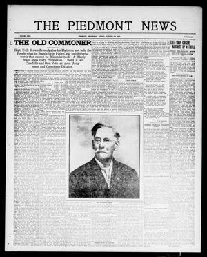 Primary view of object titled 'The Piedmont News (Piedmont, Okla.), Vol. 2, No. 36, Ed. 1 Friday, October 7, 1910'.