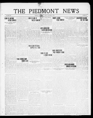 Primary view of object titled 'The Piedmont News (Piedmont, Okla.), Vol. 2, No. 45, Ed. 1 Friday, December 9, 1910'.