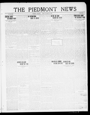 Primary view of object titled 'The Piedmont News (Piedmont, Okla.), Vol. 2, No. 46, Ed. 1 Friday, December 16, 1910'.