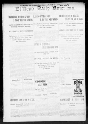 Primary view of El Reno Daily American. (El Reno, Okla.), Vol. 2, No. 61, Ed. 1 Thursday, May 14, 1903