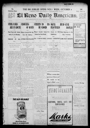 Primary view of El Reno Daily American. (El Reno, Okla.), Vol. 3, No. 53, Ed. 1 Saturday, October 3, 1903