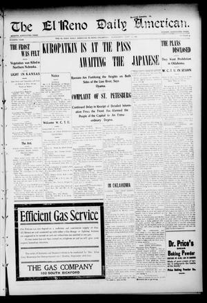Primary view of The El Reno Daily American. (El Reno, Okla.), Vol. 4, No. 35, Ed. 1 Wednesday, September 14, 1904