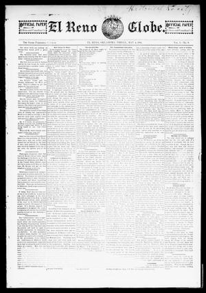 Primary view of object titled 'El Reno Weekly Globe. (El Reno, Okla.), Vol. 1, No. 9, Ed. 1 Friday, May 4, 1894'.