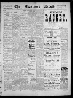 Primary view of object titled 'The Tecumseh Herald. (Tecumseh, Okla. Terr.), Vol. 3, No. 39, Ed. 1 Saturday, July 7, 1894'.