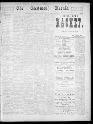 Primary view of object titled 'The Tecumseh Herald. (Tecumseh, Okla. Terr.), Vol. 3, No. 49, Ed. 1 Saturday, September 15, 1894'.