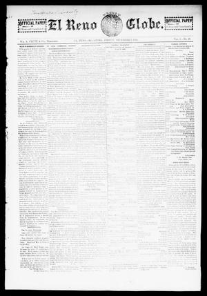 Primary view of object titled 'El Reno Weekly Globe. (El Reno, Okla.), Vol. 1, No. 41, Ed. 1 Friday, December 7, 1894'.