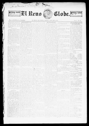 Primary view of object titled 'El Reno Weekly Globe. (El Reno, Okla.), Vol. 1, No. 45, Ed. 1 Friday, January 4, 1895'.
