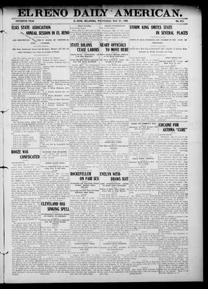 Primary view of El Reno Daily American. (El Reno, Okla.), Vol. 15, No. 272, Ed. 1 Wednesday, May 27, 1908