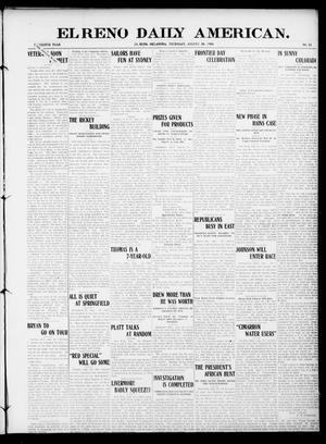 Primary view of El Reno Daily American. (El Reno, Okla.), Vol. 16, No. 32, Ed. 1 Thursday, August 20, 1908