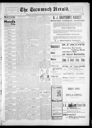 Primary view of object titled 'The Tecumseh Herald. (Tecumseh, Okla. Terr.), Vol. 6, No. 34, Ed. 1 Saturday, May 29, 1897'.