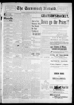 Primary view of The Tecumseh Herald. (Tecumseh, Okla. Terr.), Vol. 6, No. 43, Ed. 1 Saturday, July 31, 1897
