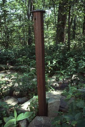 Primary view of object titled 'Choctaw Nation Marker'.
