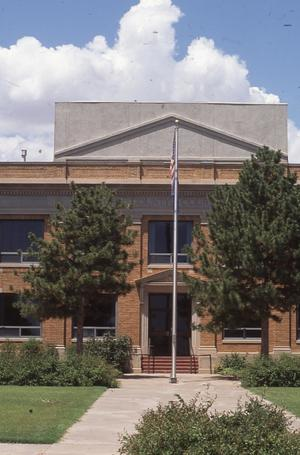Primary view of object titled 'Custer County Courthouse'.