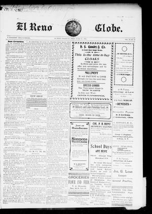 Primary view of object titled 'El Reno Weekly Globe. (El Reno, Okla.), Vol. 9, No. 30, Ed. 1 Friday, October 10, 1902'.