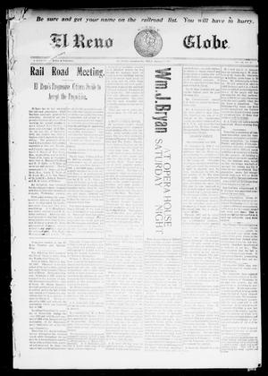 Primary view of object titled 'El Reno Weekly Globe. (El Reno, Okla.), Vol. 9, No. 43, Ed. 1 Friday, January 9, 1903'.