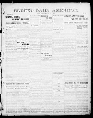 Primary view of object titled 'El Reno Daily American. (El Reno, Okla.), Vol. 16, No. 306, Ed. 1 Wednesday, July 7, 1909'.