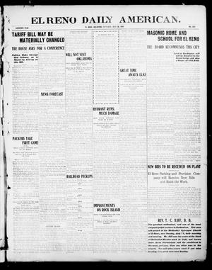 Primary view of object titled 'El Reno Daily American. (El Reno, Okla.), Vol. 16, No. 309, Ed. 1 Saturday, July 10, 1909'.