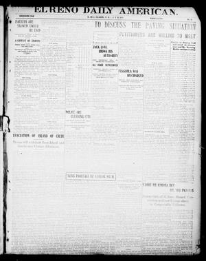 Primary view of object titled 'El Reno Daily American. (El Reno, Okla.), Vol. 17, No. 10, Ed. 1 Sunday, July 25, 1909'.