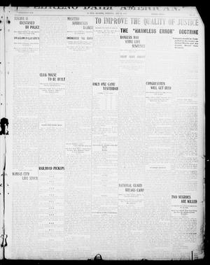 Primary view of object titled 'El Reno Daily American. (El Reno, Okla.), Vol. 17, No. 12, Ed. 1 Wednesday, July 28, 1909'.