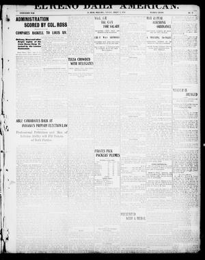 Primary view of object titled 'El Reno Daily American. (El Reno, Okla.), Vol. 17, No. 17, Ed. 1 Tuesday, August 3, 1909'.