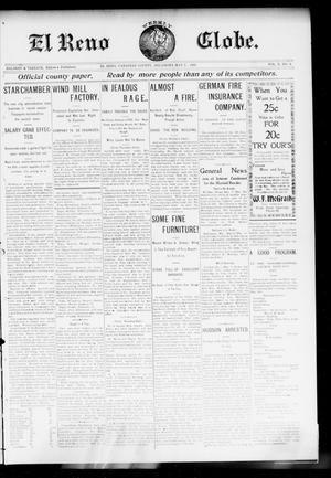 Primary view of El Reno Weekly Globe. (El Reno, Okla.), Vol. 10, No. 8, Ed. 1 Friday, May 8, 1903