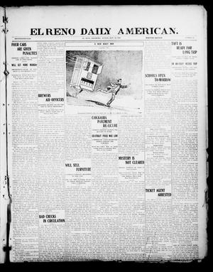 Primary view of object titled 'El Reno Daily American. (El Reno, Okla.), Vol. 17, No. 52, Ed. 1 Sunday, September 12, 1909'.