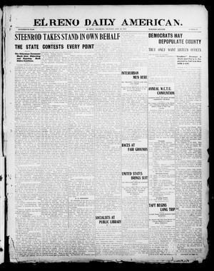 Primary view of El Reno Daily American. (El Reno, Okla.), Vol. 17, No. 55, Ed. 1 Thursday, September 16, 1909