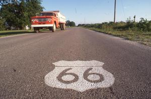 Primary view of object titled 'Route 66'.