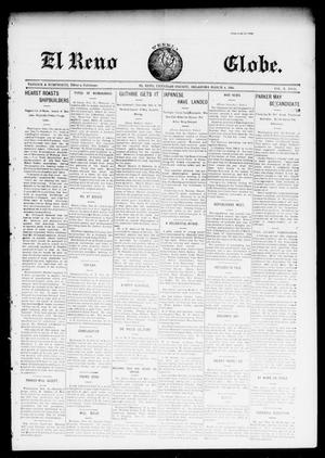Primary view of object titled 'El Reno Weekly Globe. (El Reno, Okla.), Vol. 10, No. 51, Ed. 1 Friday, March 4, 1904'.