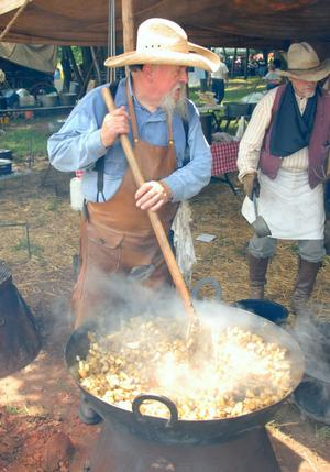 Primary view of object titled 'Chuck Wagon Cook-off'.