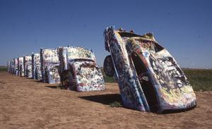 Primary view of object titled 'Cadillac Ranch'.